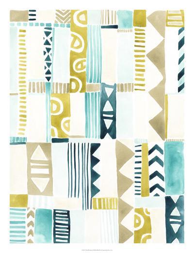 Tribal Patchwork II-June Erica Vess-Giclee Print