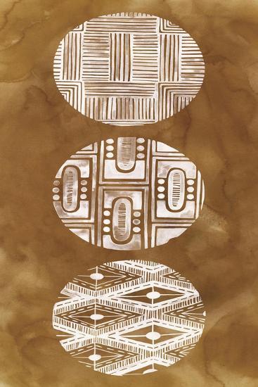 Tribal Pattern II-Grace Popp-Art Print