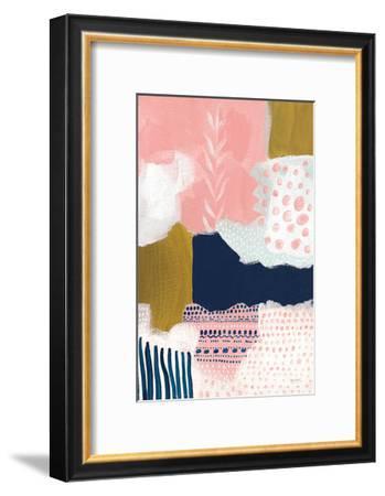 Tribal Study Coral-Lynn Mack-Framed Premium Giclee Print