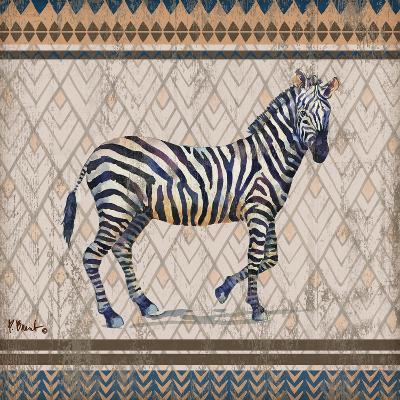 Tribal Trek Neutral I-Paul Brent-Art Print