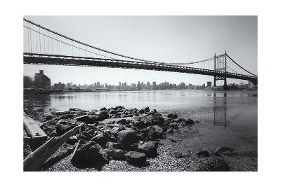 Triboro Bridge Rocks-Henri Silberman-Photographic Print