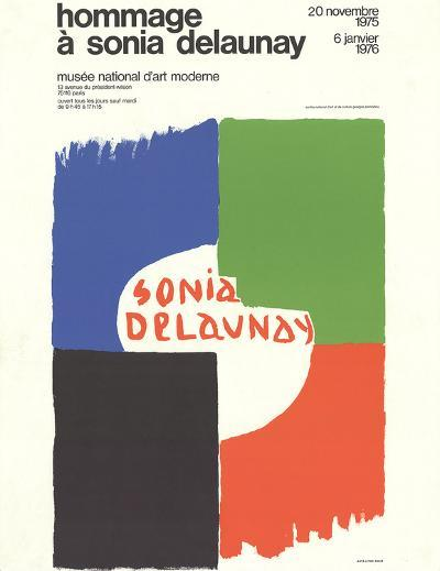 Tribute to Sonia Delaunay-Sonia Delaunay-Collectable Print