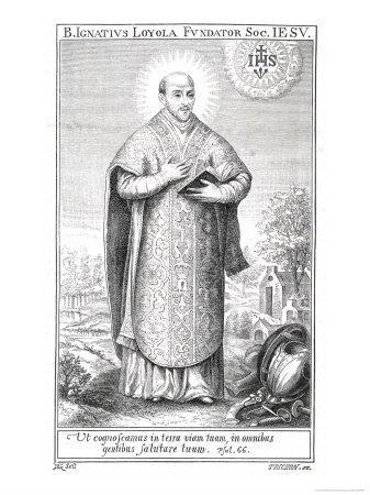 Ignatius Loyola, Spanish Saint and Founder of Jesuit Order
