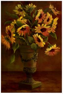 Mediterranean Sunflowers I by Tricia May