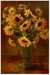 Mediterranean Sunflowers II by Tricia May