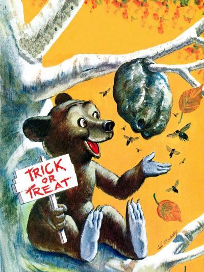 Trick or Treat - Jack & Jill-Cal Massey-Giclee Print