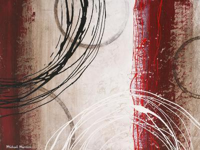 Tricolored Gestures I-Michael Marcon-Premium Giclee Print