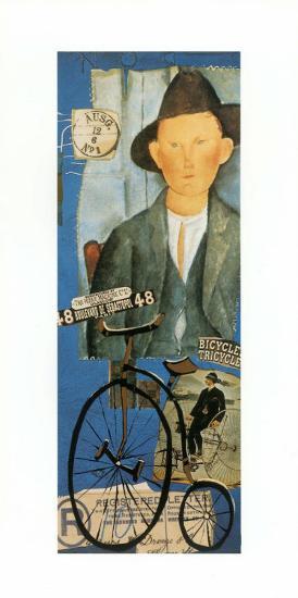 Tricycle-Claudette Castonguay-Art Print