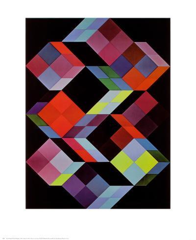 Tridem K-Victor Vasarely-Art Print