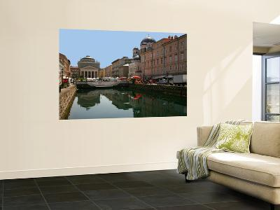 Trieste Grand Canal (Canal Grande) Towards Saint Anthony's Square-Ruth Eastham & Max Paoli-Wall Mural