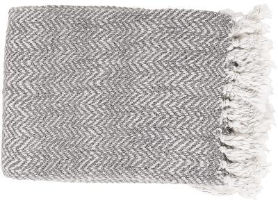 Trina Throw - Charcoal/Light Gray *--Home Accessories