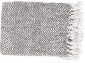 Trina Throw - Charcoal/Light Gray *