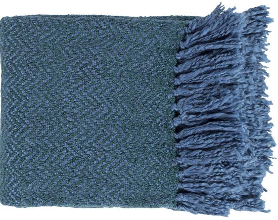 Trina Throw - Cobalt/Teal--Home Accessories