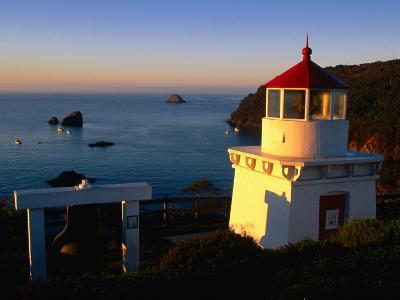 Trinidad Head Lighthouse, Trinidad, California, USA-Stephen Saks-Photographic Print