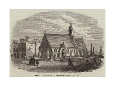 Trinity Church and Parsonage, Sliema, Malta--Giclee Print