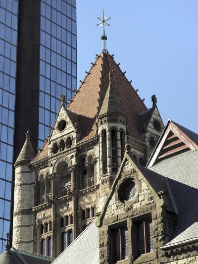 Trinity Church, Hancock Tower, Boston, Massachusetts, New England, USA--Photographic Print
