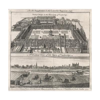 Trinity Coll., Cambridge--Giclee Print