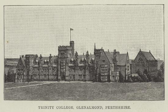 Trinity College, Glenalmond, Perthshire--Giclee Print