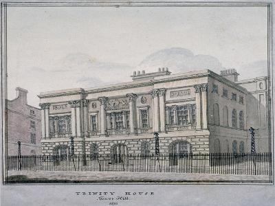 Trinity House, Trinity Square, City of London, 1810--Giclee Print