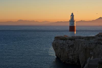 Trinity Lighthouse Gibraltar-Allard Schager-Photographic Print
