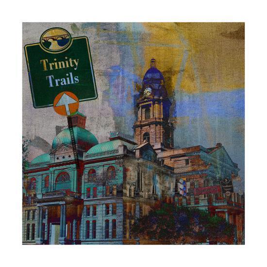 Trinity Trails - Ft. Worth-Sisa Jasper-Art Print