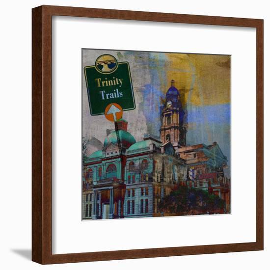 Trinity Trails - Ft. Worth-Sisa Jasper-Framed Art Print