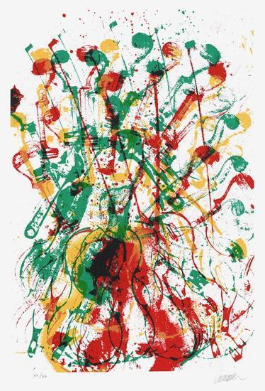 Trio cordes III-Fernandez Arman-Limited Edition