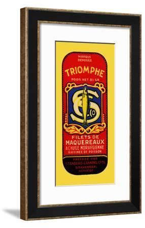 Triomphe Filets De Maquereaux--Framed Art Print