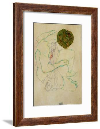 Triple Selfportrait, 1913-Egon Schiele-Framed Giclee Print