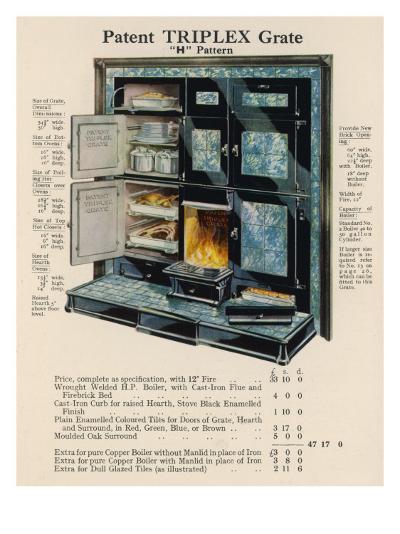 Triplex Grate and Boiler--Giclee Print