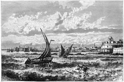 Tripoli from the Roadstead, C1890-Barbant-Giclee Print