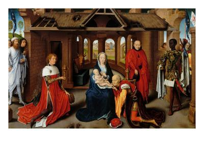 Triptych, Adoration of the Magi-Hans Memling-Giclee Print