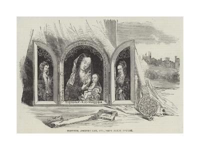 Triptych, Ancient Key, Etc, from Alton Towers--Giclee Print
