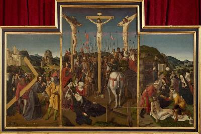 Triptych of Crucifixion, Circa 1485--Giclee Print