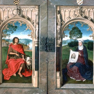 Triptych of Jan Florain, 1479-Hans Memling-Giclee Print