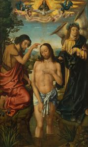 Triptych of the Baptism of Christ