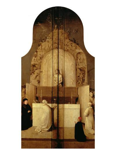 Triptych of the Epiphany (Mass of Saint Gregory)-Hieronymus Bosch-Giclee Print