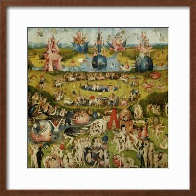 Triptych Of The Garden Of Earthly Delights Central Panel Giclee Print Hieronymus Bosch Art Com