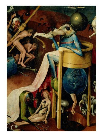 Triptych of the Garden of Earthly Delights (detail)-Hieronymus Bosch-Giclee Print