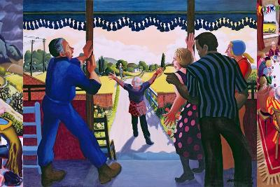 Triptych of the Prodigal Son's Return, 2005-Dinah Roe Kendall-Giclee Print