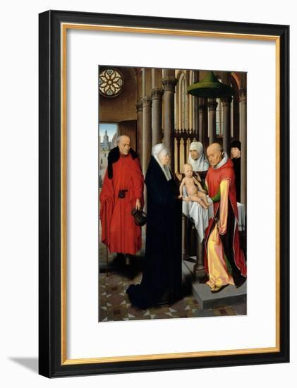 Triptych, Presentation in the Temple-Hans Memling-Framed Giclee Print