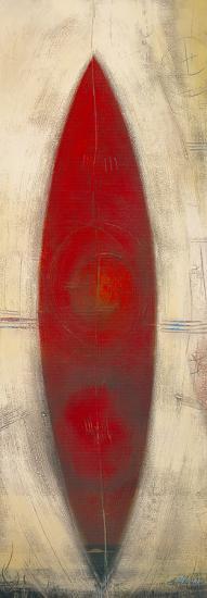 Triptyque Rouge II-Carole B?cam-Art Print