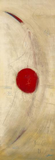 Triptyque Rouge III-Carole B?cam-Art Print