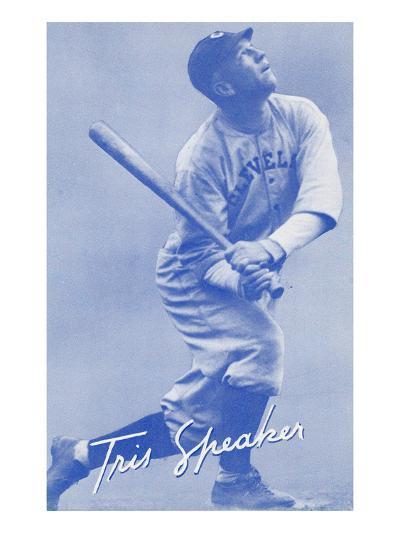Tris Speaker, Baseball Player--Art Print
