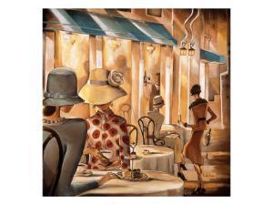 Bistro du Paradou by Trish Biddle