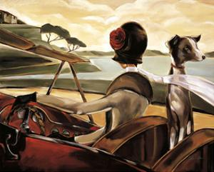Road to Cannes by Trish Biddle
