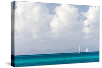 Bvi, Sailboats Navigate Caribbean Sea