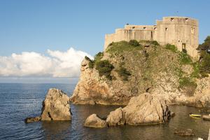 Croatia, Dubrovnik. St. Lawrence Fortress. Outside city walls. Called Dubrovnik Gibraltar. by Trish Drury