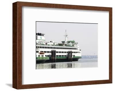 Eagle Harbor, Ferry Arrives Bainbridge from Seattle