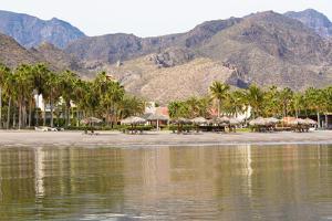 Mexico, Baja California Sur, Sea of Cortez, Loreto Bay. Beach view. by Trish Drury